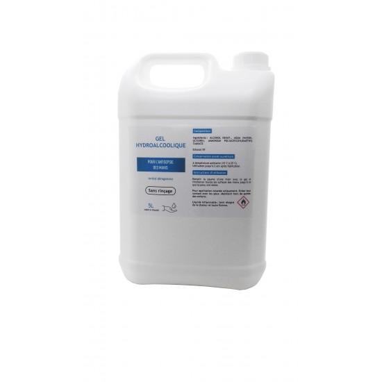 Gel hydroalcoolique 5L -...